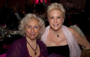 """Melanie with her mother Sonia Young, Chattanooga's beloved """"Purple Lady"""""""