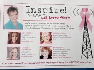 BREAST CANCERWELLNESS INSPIRE
