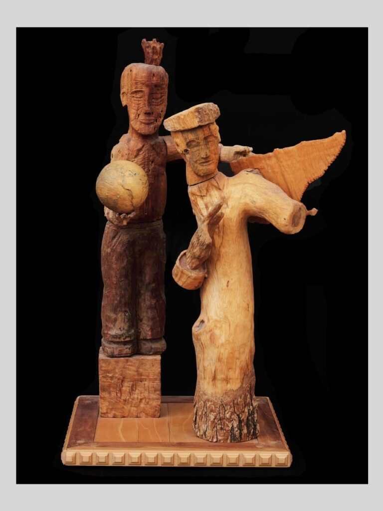 Robert Magrisso Wood Carvings and Constructions