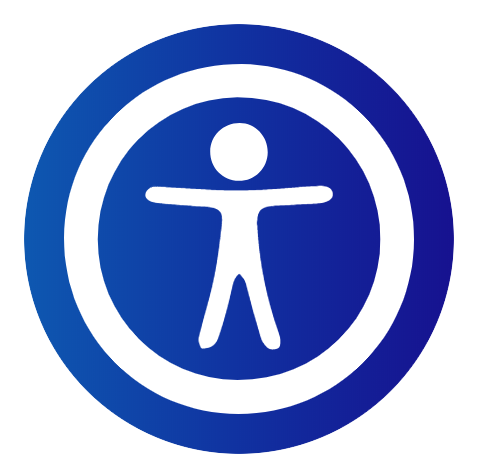 Example of the UserWay Button