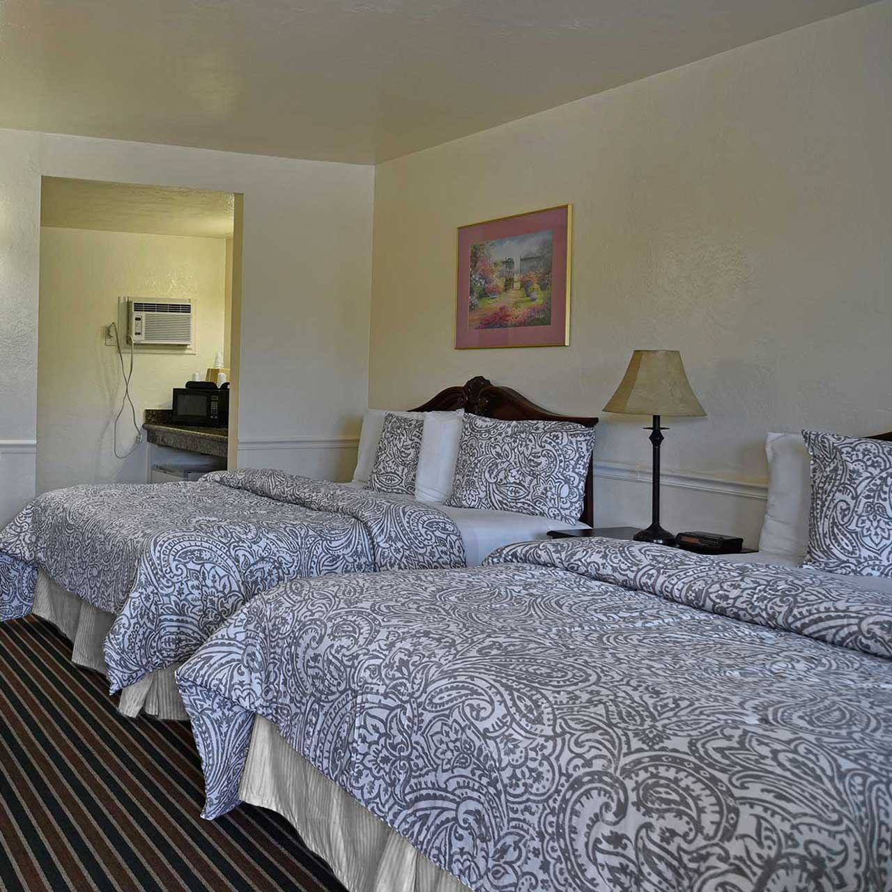 Monterey Pines Inn Room Accommodation Double Queen