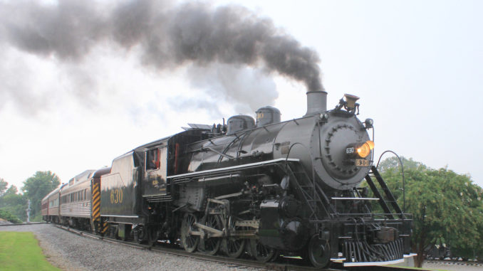 The Tennessee Valley Railroad Museum in Chattanooga, Tenn., 2013.