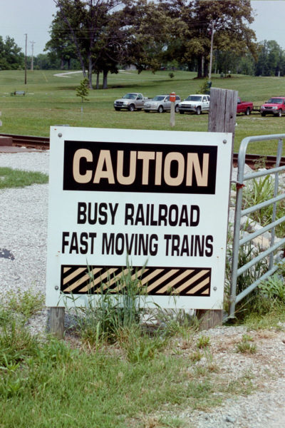 Fast-Moving Trains