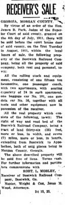 Athens Banner, July 25, 1911.