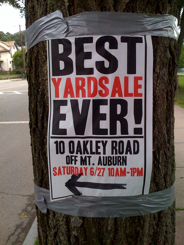 How to have an Awesome Yard Sale