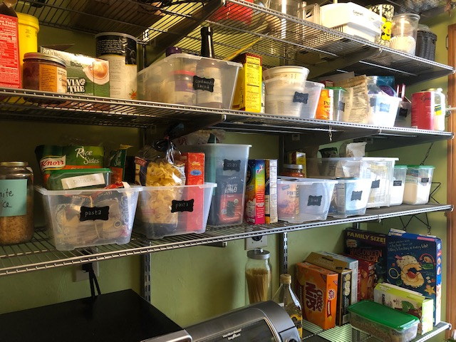 WOULD YOU LIKE TO START SOME ORGANIZING PROJECTS WHILE YOU'RE MOSTLY HOMEBOUND?
