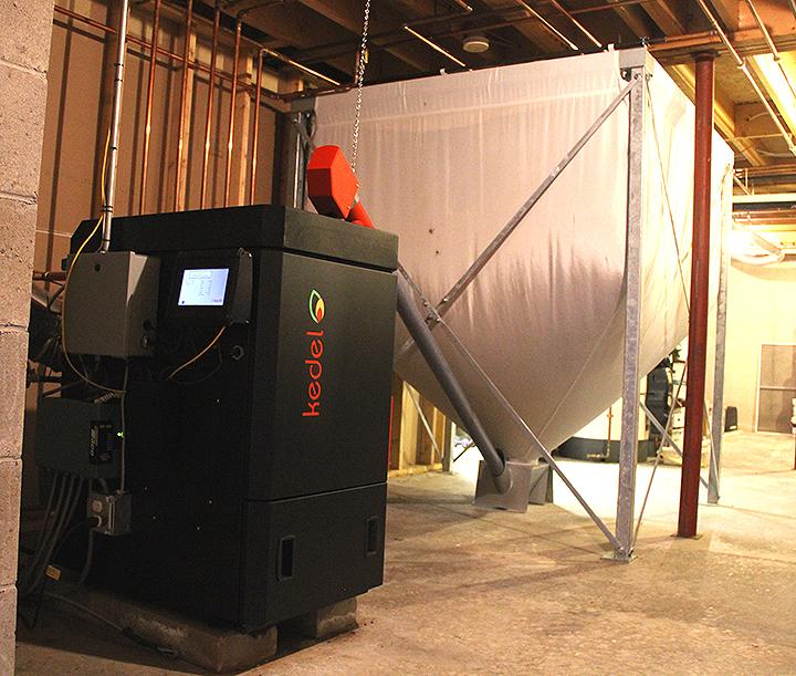 Kedel Wood Pellet Boiler