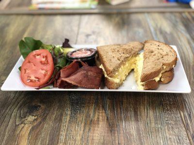 Egg Salad Sandwich - Sidewalk Chef Kitchen