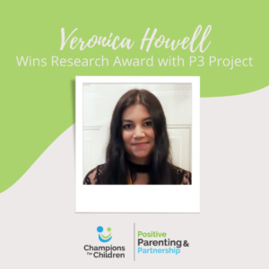 Veronica Howell Wins Research Award with P3 Project