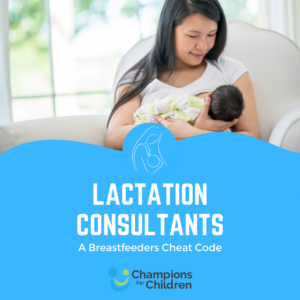 lactation consultants: a breastfeeders cheat code