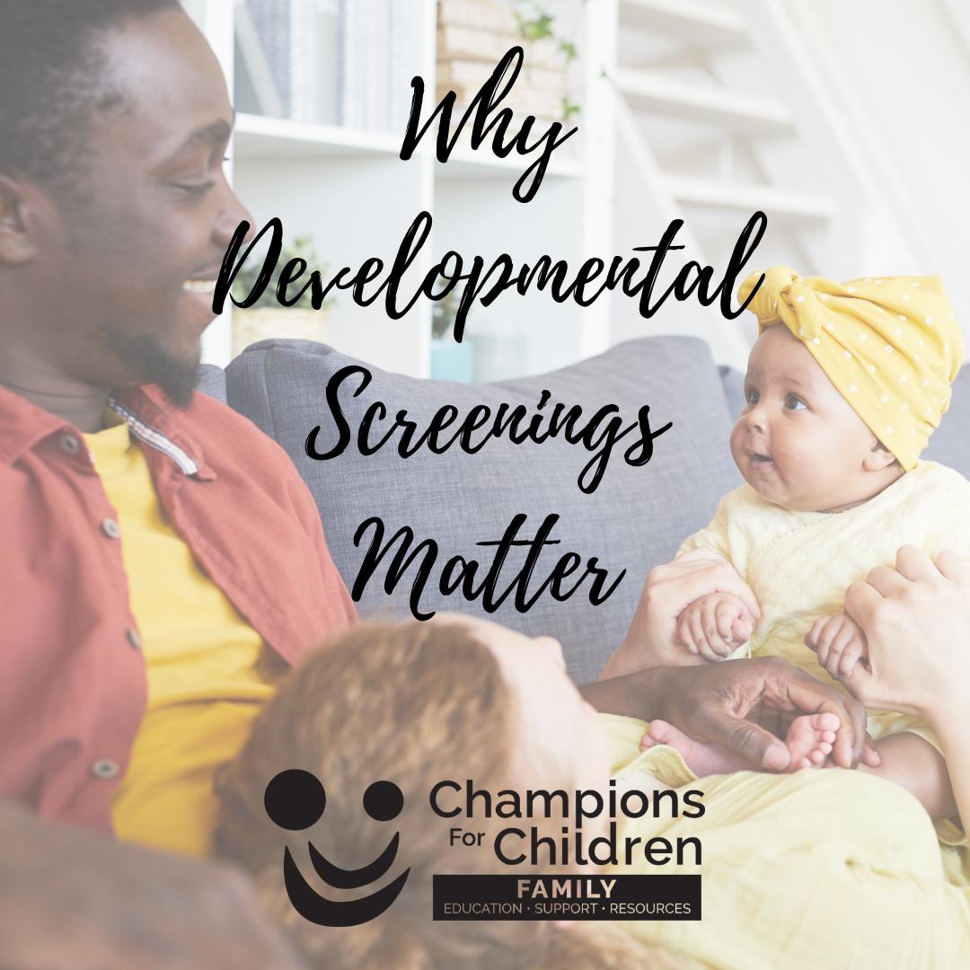 why developmental screenings matter