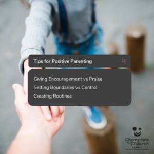 Tips for positive parenting