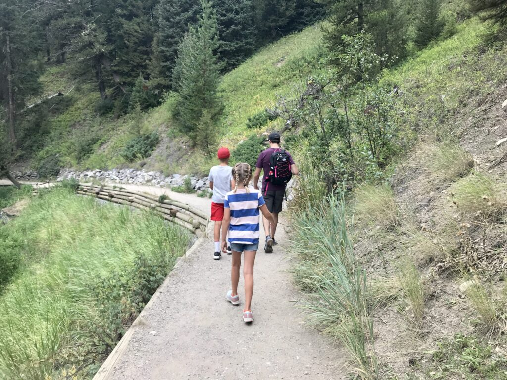 Hiking Trail at Ousel Falls