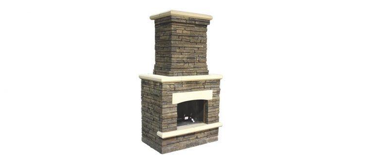 Bordeau Fireplace silo