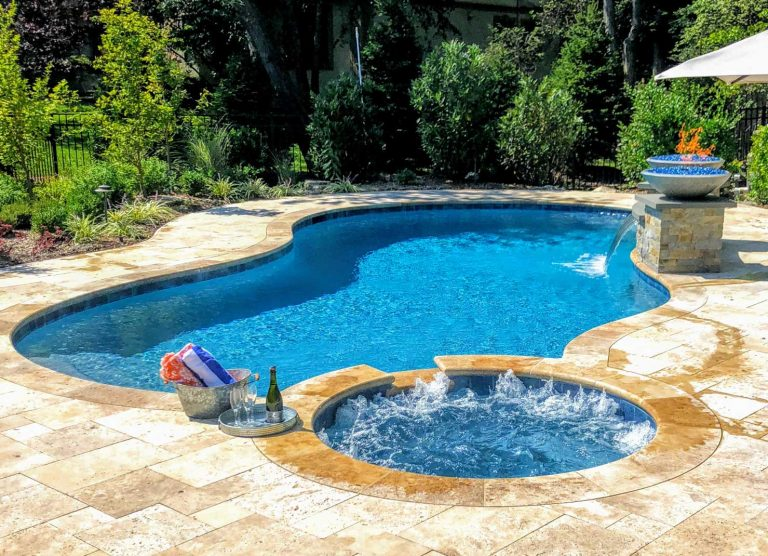In Ground Pool & Spa Combo