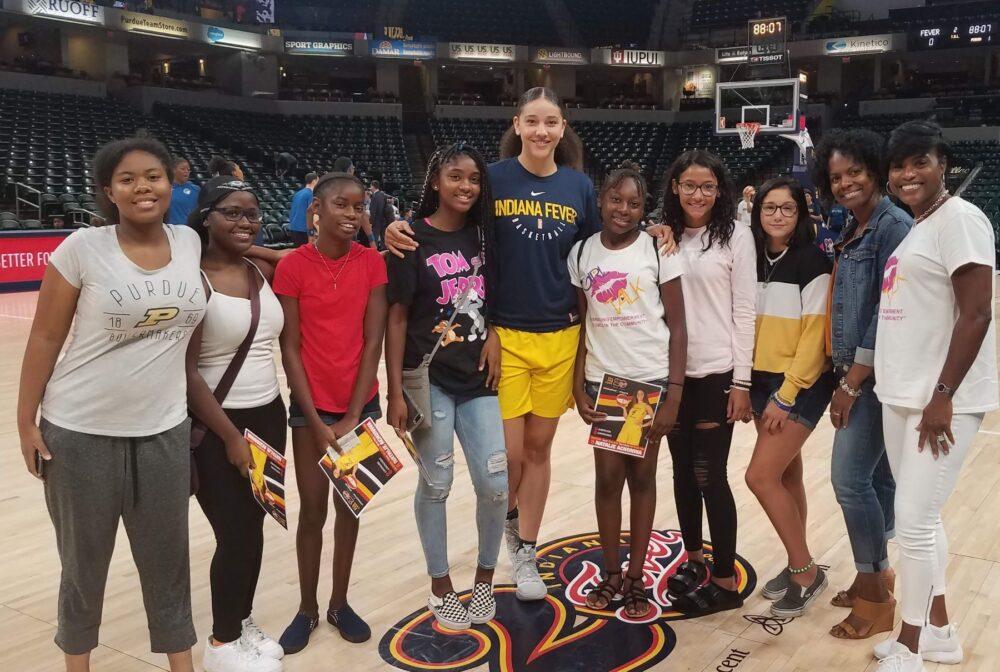 Girl Talk trip with Fever Natalie Achonwa
