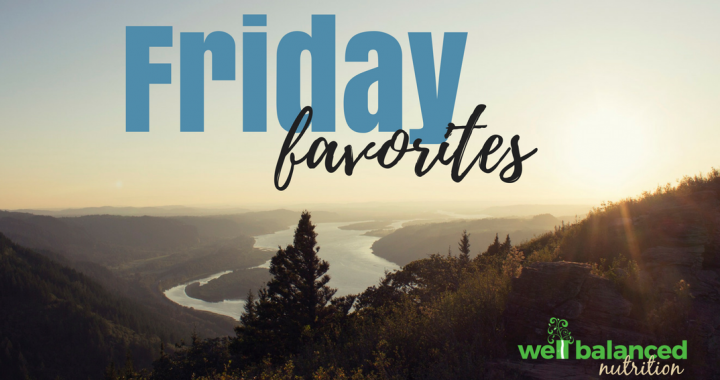 Lucy's Friday Favorites!