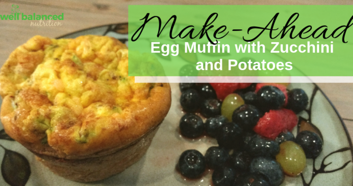 Easy Morning Egg, Potato and Zucchini Cups
