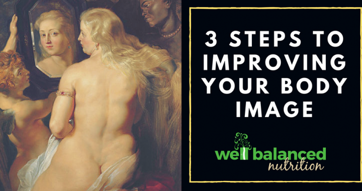 Comfortably Chubby | 3 Steps to improving your body image