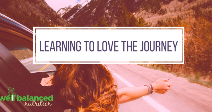 Learning to love the journey