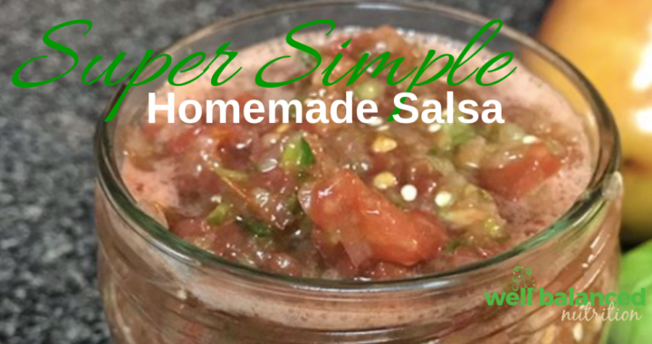 Super Simple and Delicious Homemade Salsa