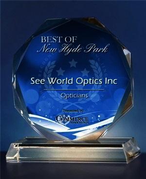 Best Optician award