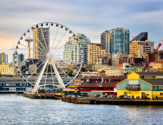 Seattle waterfront and skyline - Unique things near Seattle to do