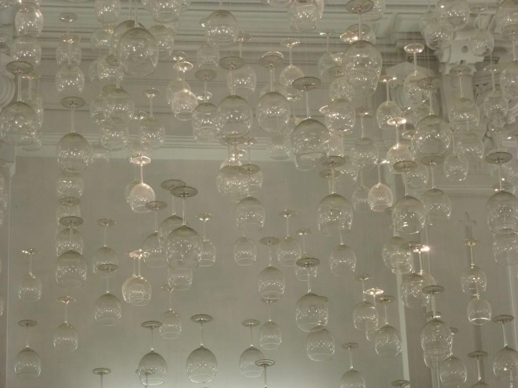 It's raining wine (glasses)!