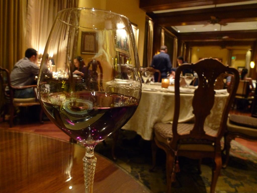 Fin del Mundo Pinot Noir in the Hotel Grano de Oro