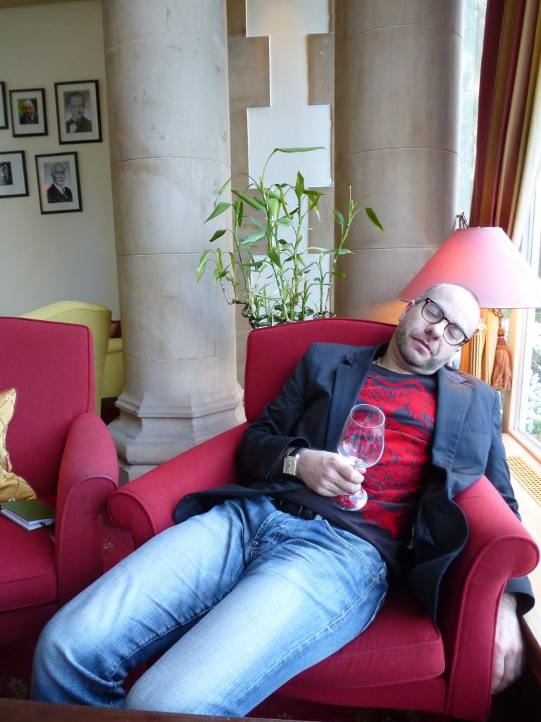 Wine Blogger Down!