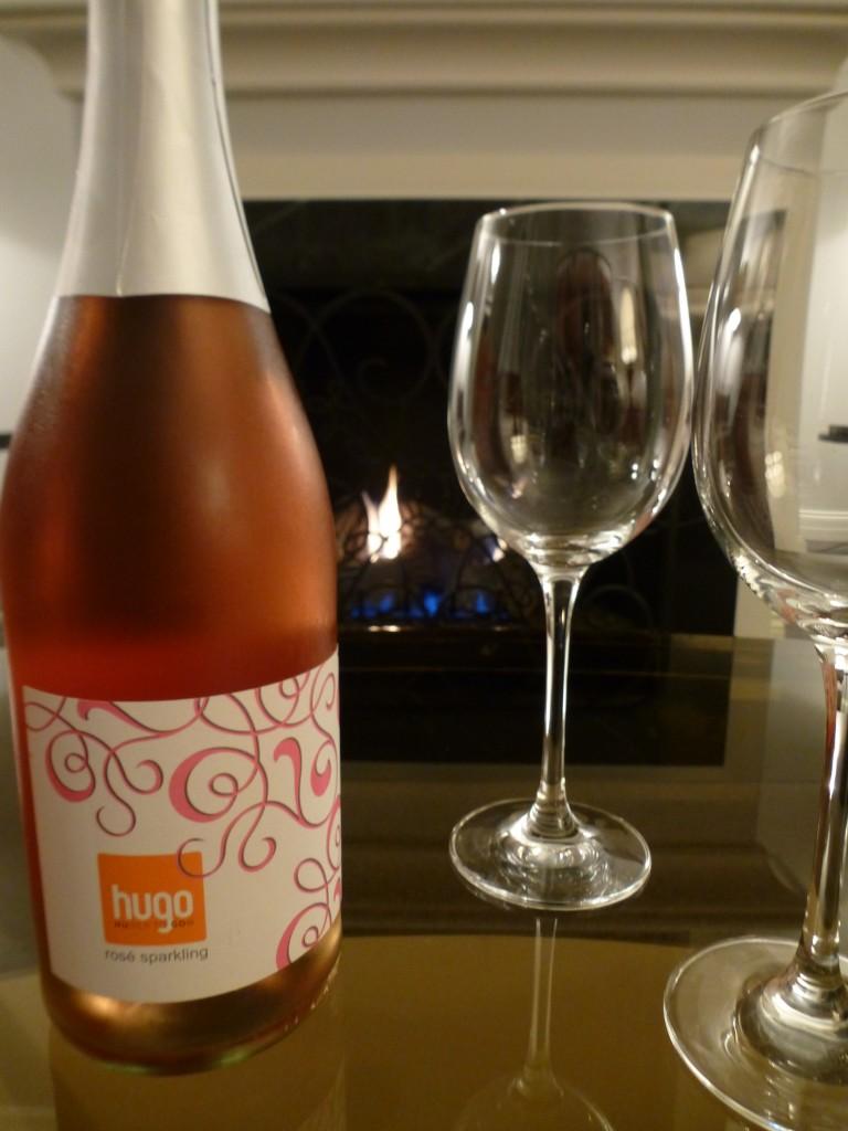 Huber's Hugo Sparkling Rose