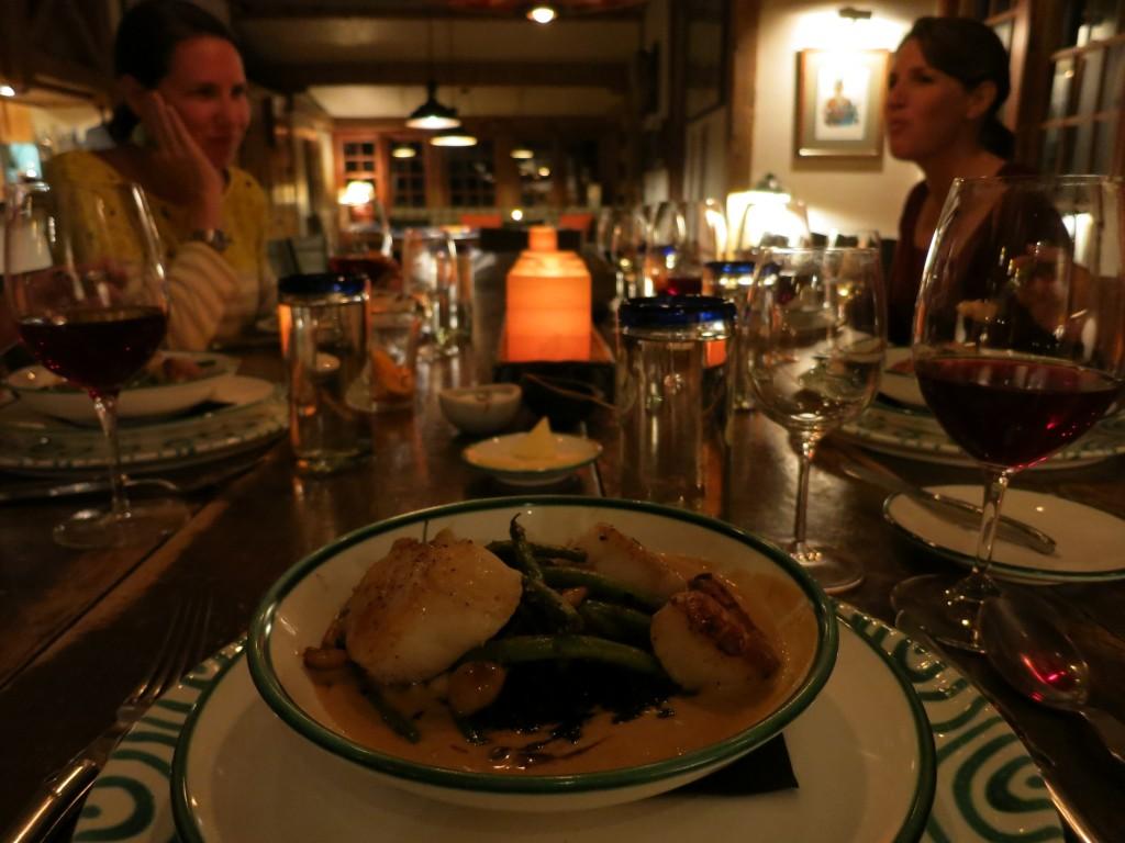 Dinner at Dunton