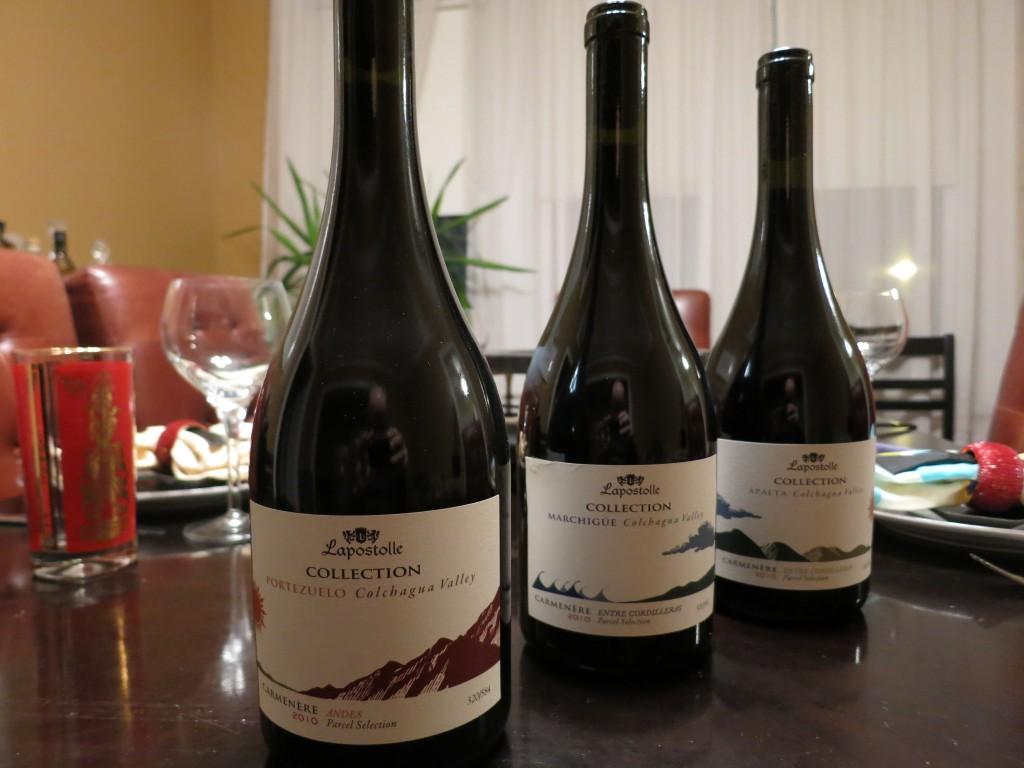 Lapostolle's Single-Vineyard Carmeneres