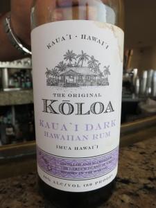 Koloa Kaua'i Dark Rum
