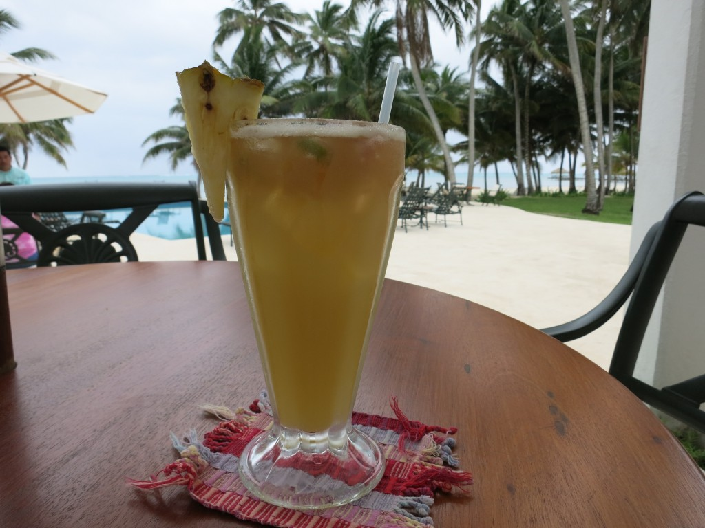 Planters Punch at Victoria House