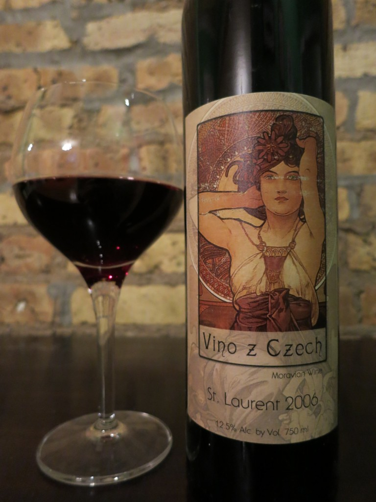 Vino z Czech St. Laurent by Vino Marcincak