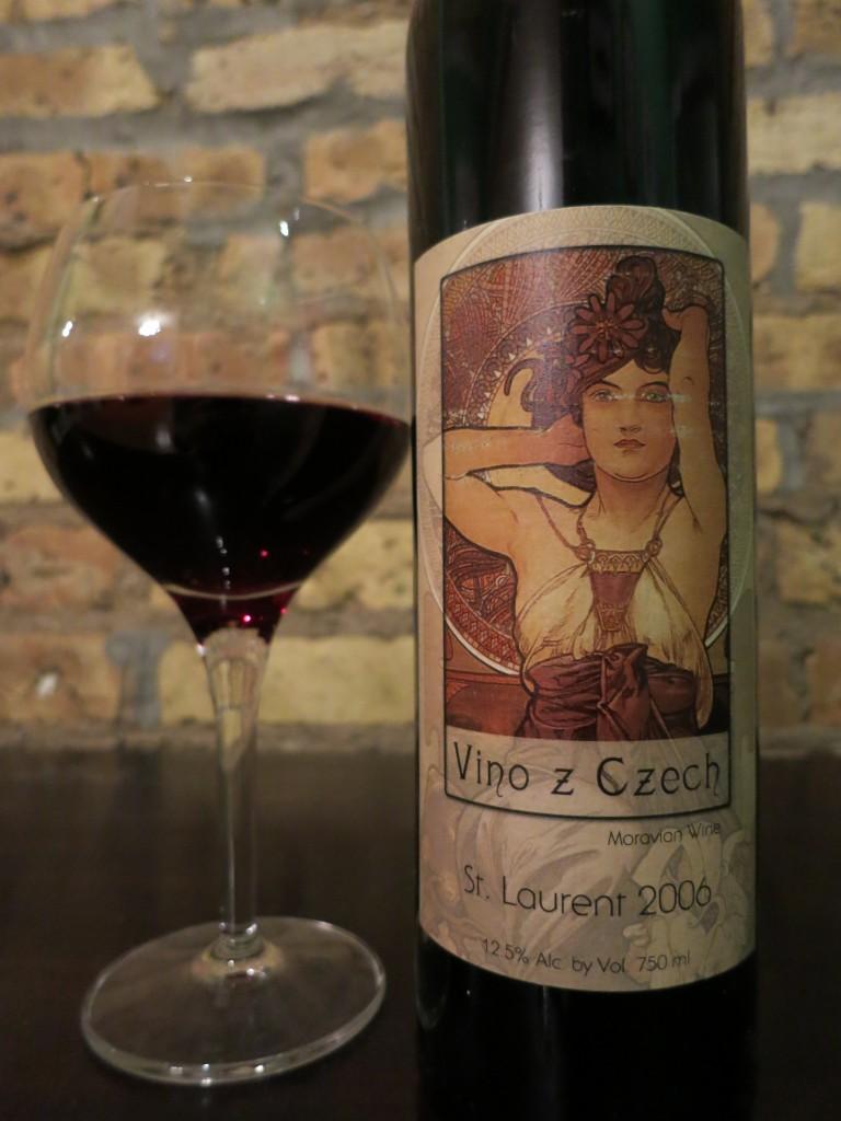 Vino z Czech St. Laurent by Vino Marcincak