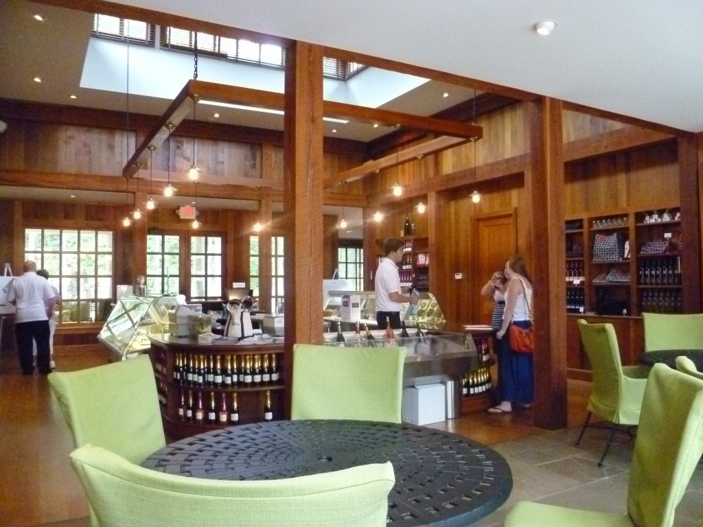 Trump Winery tasting room