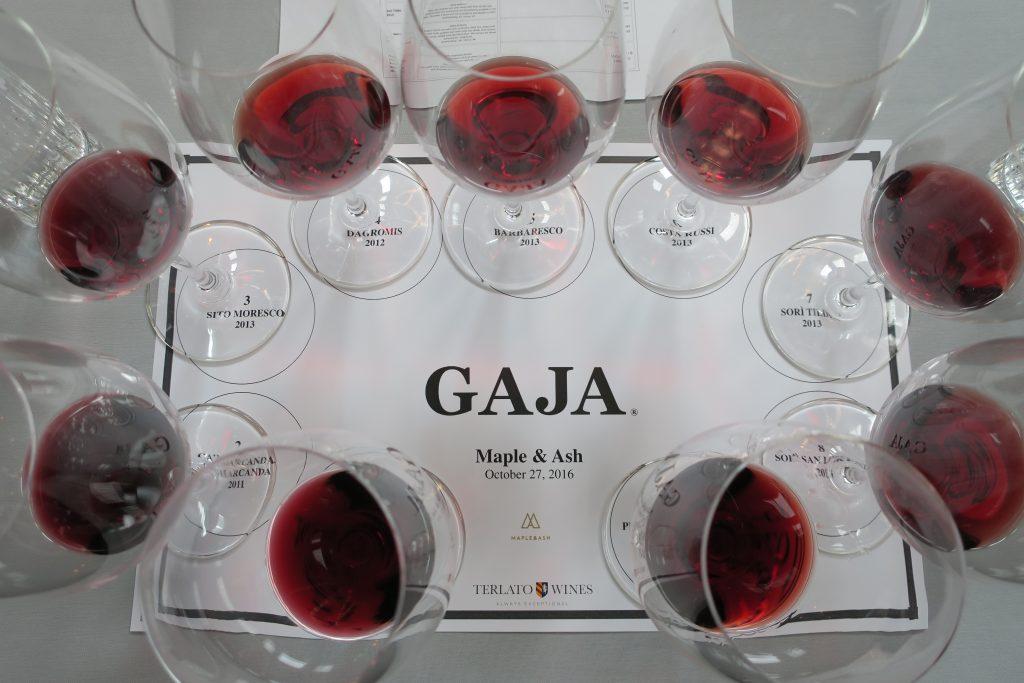 Gaja wine