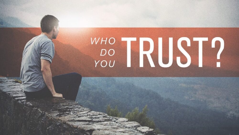 Who Do You Trust? Image