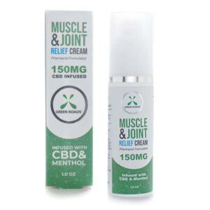 Green Roads | Topicals | Muscle & Joint Relief Cream — 150MG, 300MG of CBD