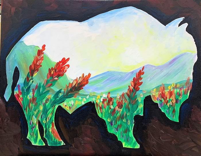 Spring Bison