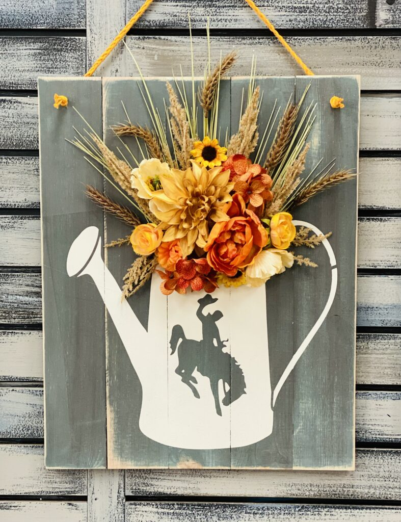 Fall Watering Can