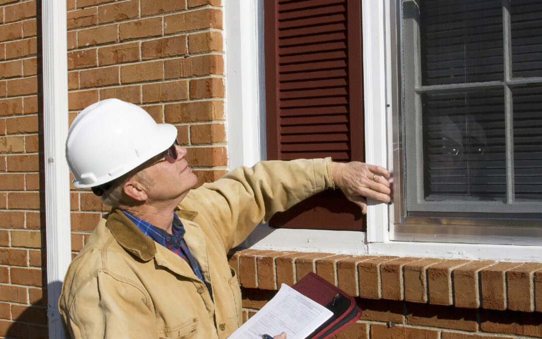home inspector looking for any house defects