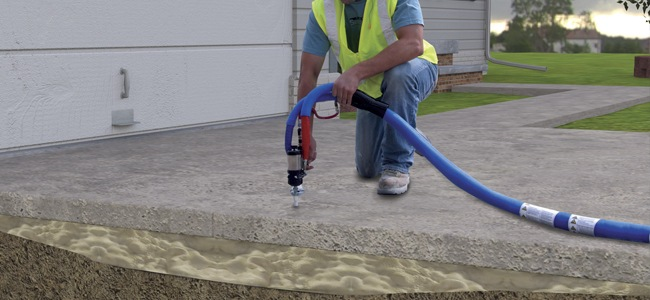 Alternative Remedy For Sinking Sidewalks Or Uneven Foundations