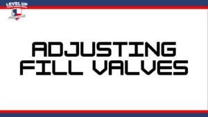Adjusting valves