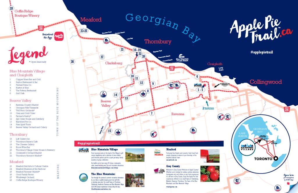 Ontario apple pie trail