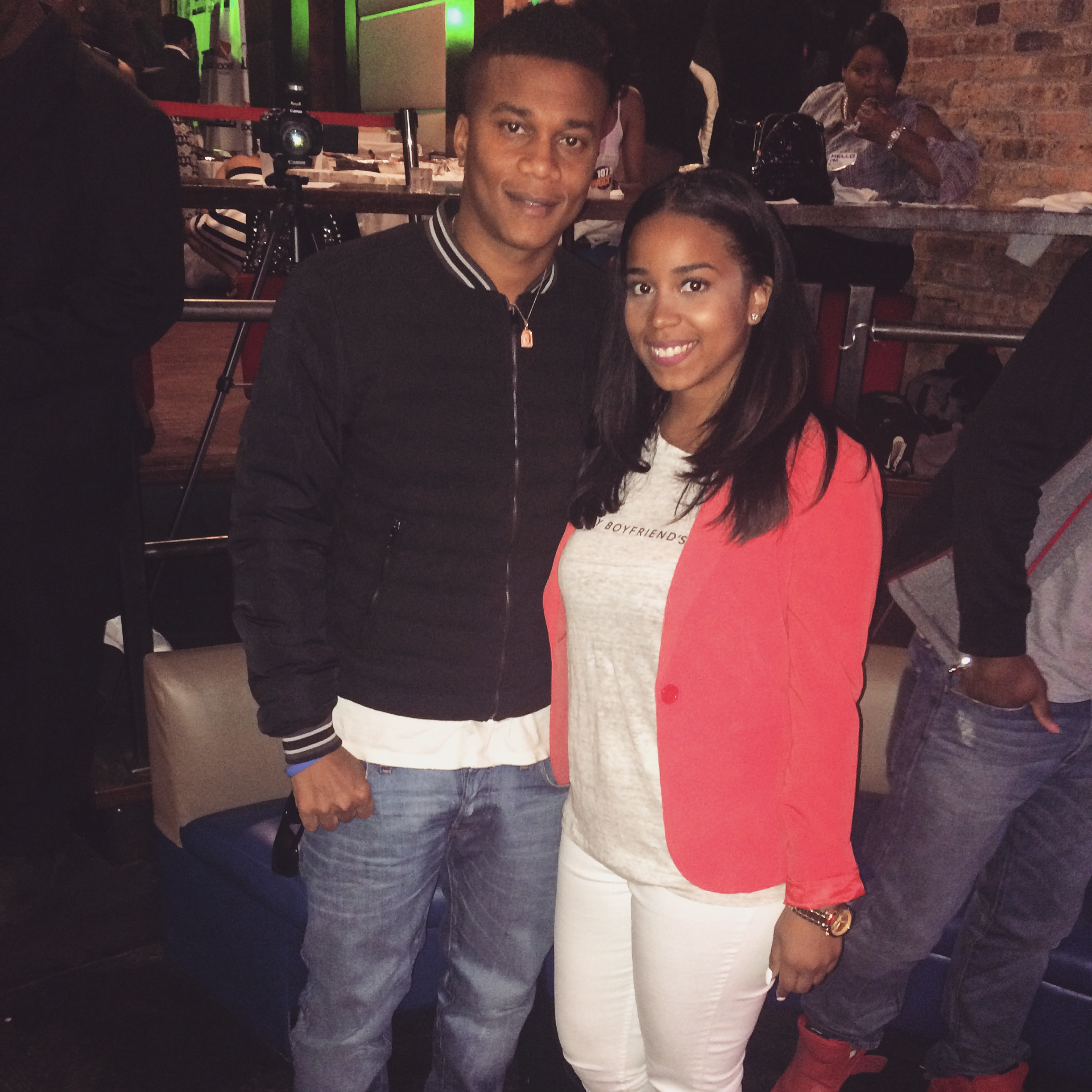 Brotherly Love Actor Cory Hardrict & Briea Chanel