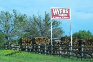 Myers Cedar Yard Lampasas TX