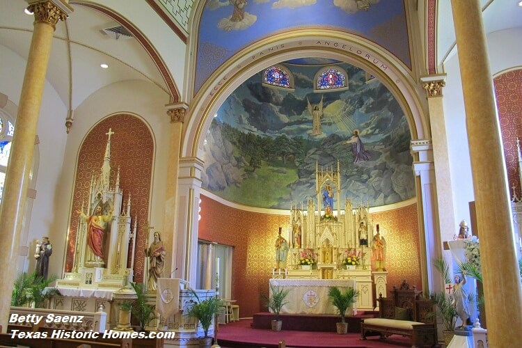 Saints Cyril Methodius Catholic Church Shiner Texas